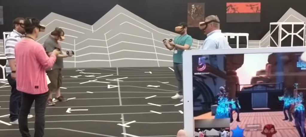 Oculus Quest shows off Arena Scale gaming - Newfun Technology