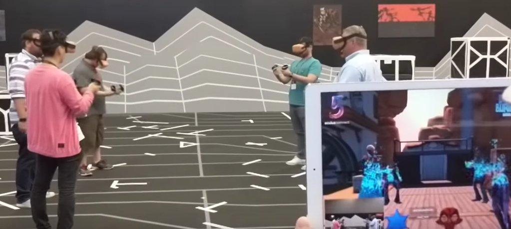 Arena Scale Oculus Quest